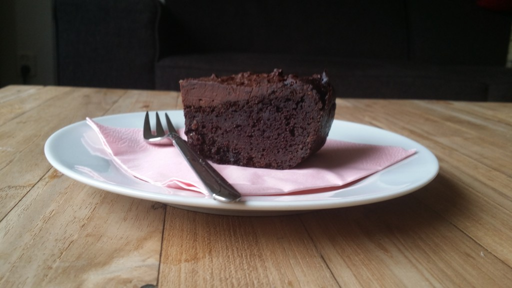 chocolade brownie met fudge